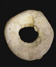 Ostrich shell bead from Loiyangalani